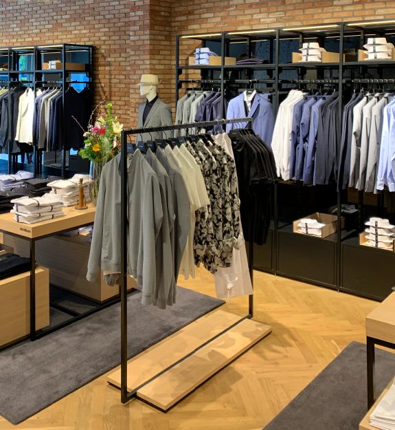 Het Zwitserse merk Strellson heeft nu een winkel in Breda
